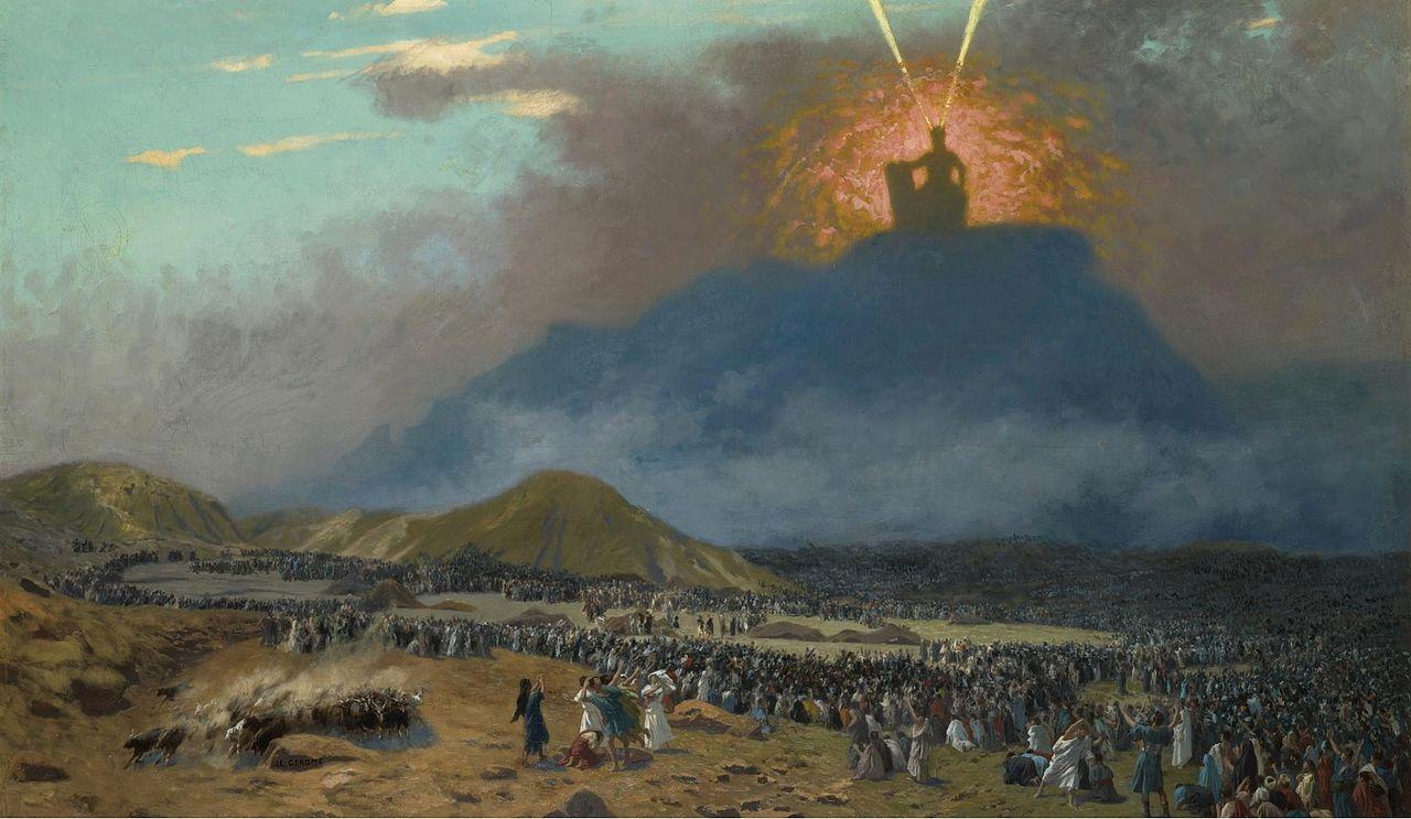 _Moses_on_Mount_Sinai_Jean-Léon_Gérôme_-1895-1900